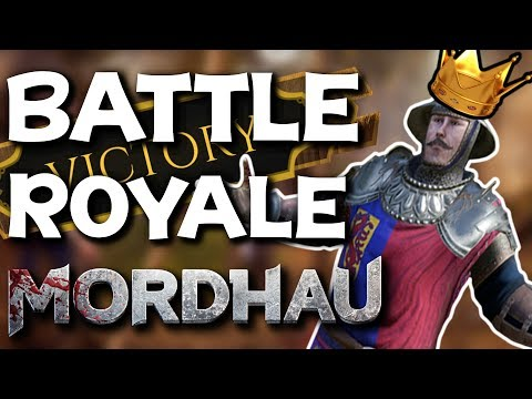 HIGH KILLS Battle Royale Wins!! - Mordhau Battle Royale Gameplay