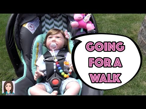 Reborn Baby Paisley Goes For A Walk!