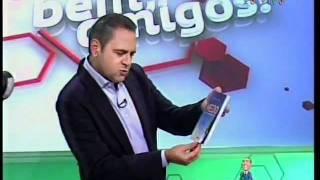 Programa Bem, Amigos! (SPORTV) indica livro de Rodrigo Batalha