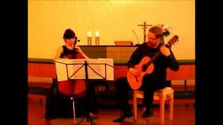 Cello Guitar Duet - Duo Vitare - W. Kilar: Twilight Cellos, from the movie The Portait of a Lady