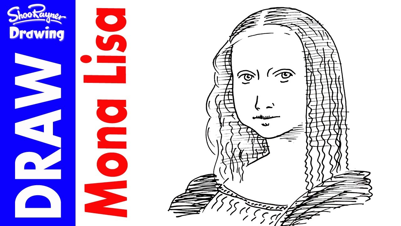 learn how to draw mona lisa
