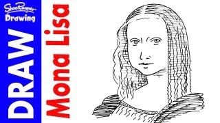How to draw the Mona Lisa