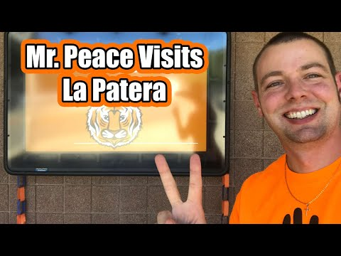 Mr. Peace Visits La Patera Elementary School in Goleta, California