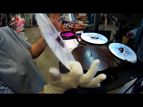 Vinyl Splatter Production [Pallas Group]