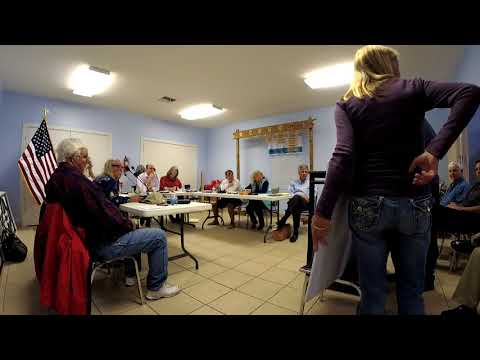 PIPOA Board Meeting 2018-01-23