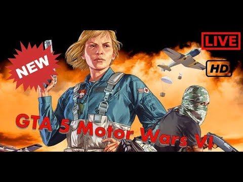 GTA 5 Motor Wars VI (New Game Mode)