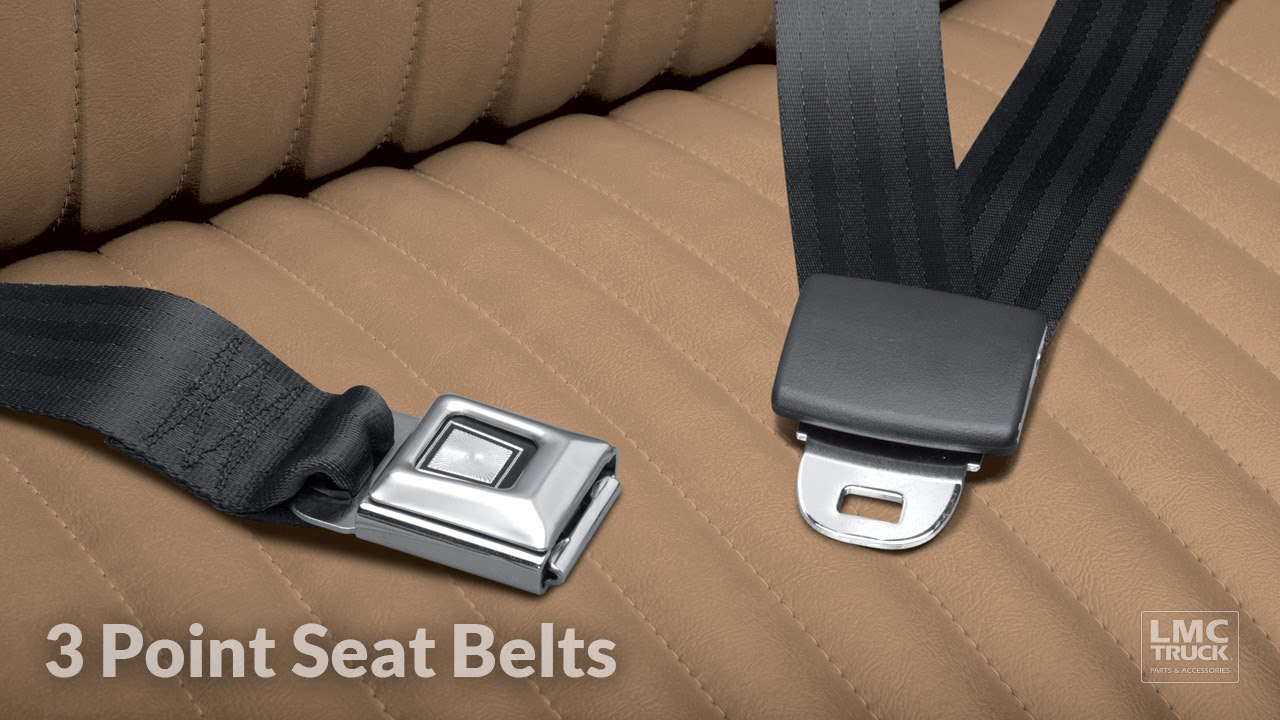 Replace 3 Point Seat Belt Kits for Truck Safety - LMC ...