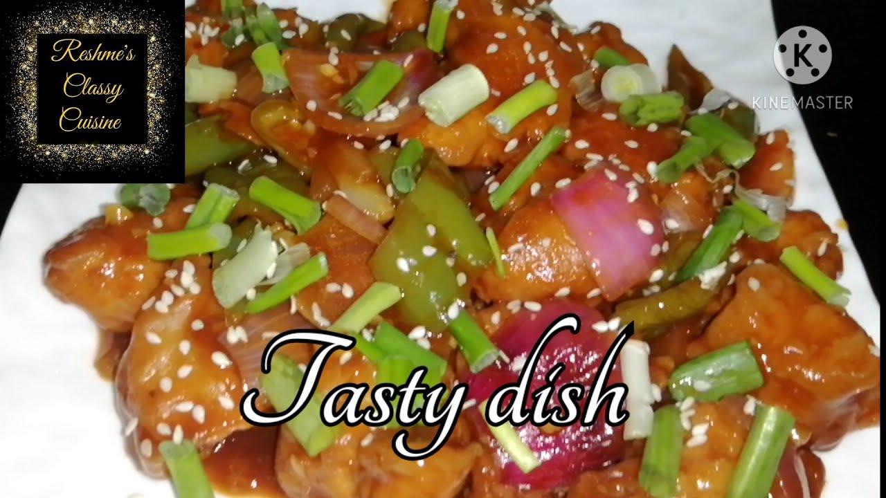 Spicy Chili Chicken Easy Chicken Recipe Spicy Gravy Youtube