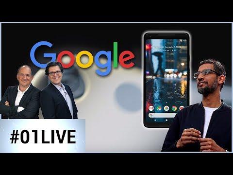 01LIVE spécial Google : toutes les annonces (Pixel 2, Google Home Mini et Pixel Book)