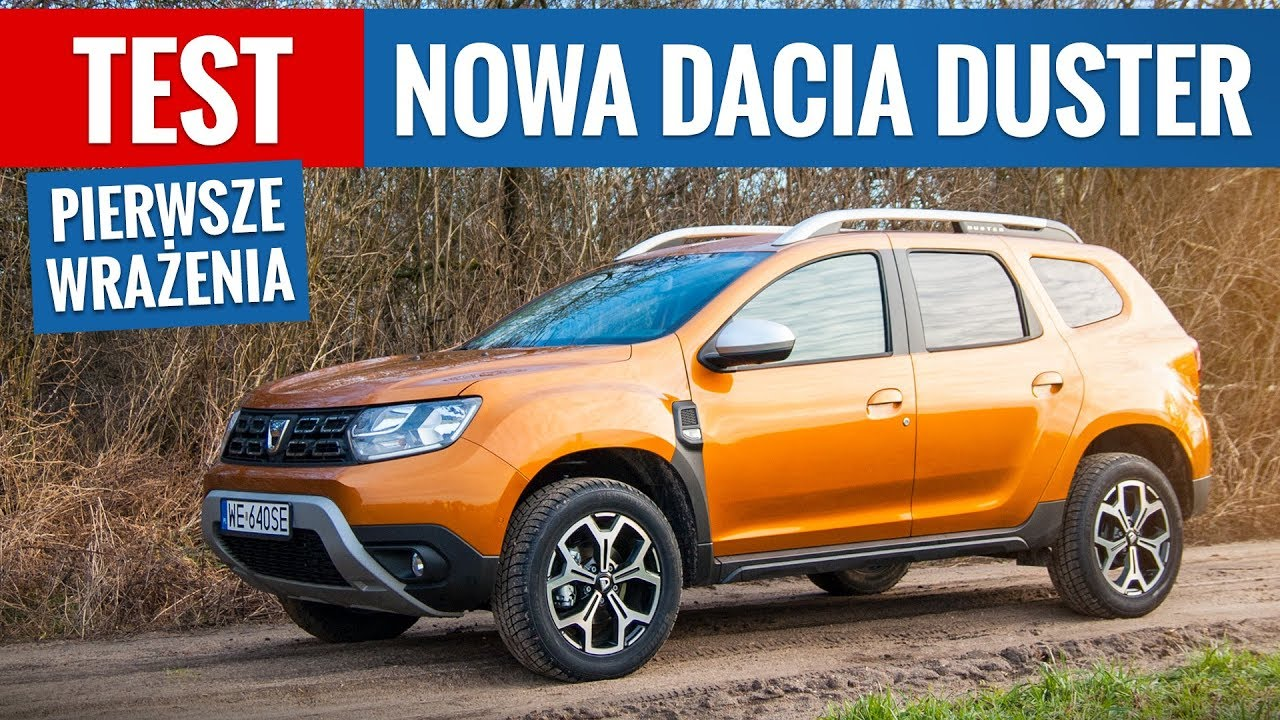 nowa dacia duster 2018 test pl pierwsze wra enia youtube. Black Bedroom Furniture Sets. Home Design Ideas