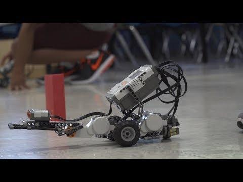 Robot Camp at the University of North Dakota