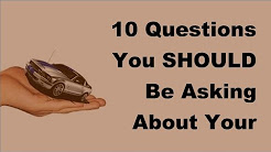 2017 Vehicle Insurance Policy |  Questions You SHOULD Be Asking About Your Car Insurance