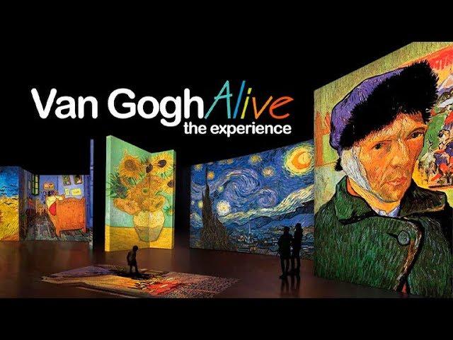 La exposición Van Gogh Alive llega a Valencia