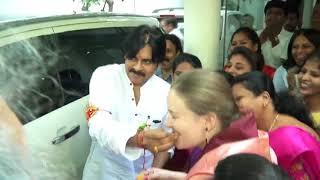 Pawan Kalyan Launches JSP Veera Mahila Social Media | Starts Chalore Chalore Chal | JanaSena