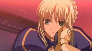 Fate/Stay Night - Saber's last moments