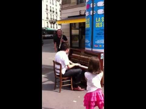 Paris, boulevard st Michel