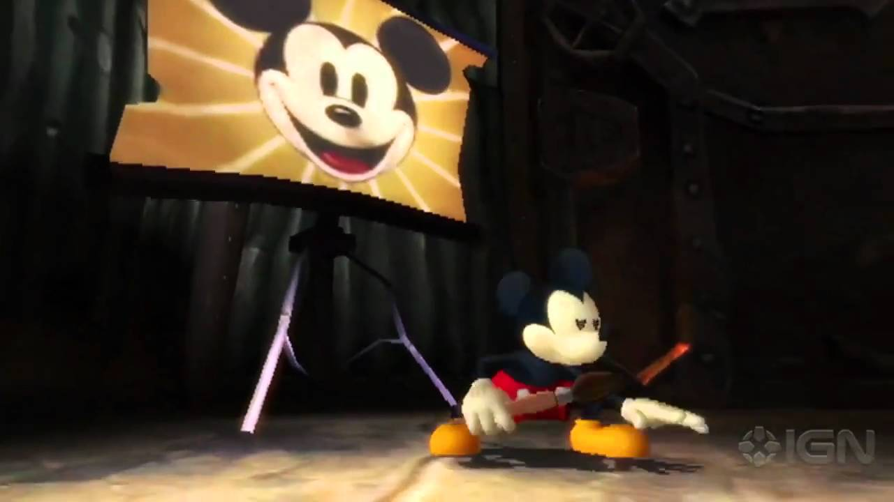 Epic Mickey Gameplay Trailer Tgs 2010 Youtube