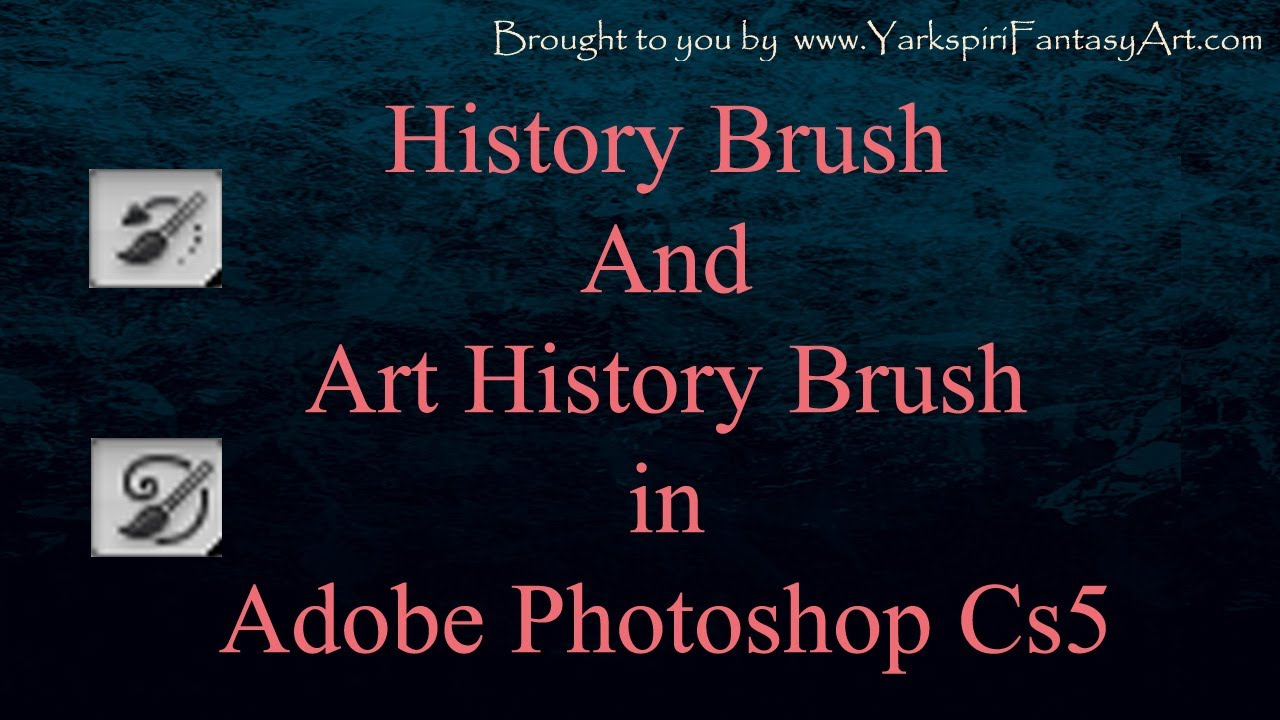 how to get ring on brush tool in adobe photoshop