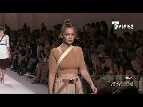 FENDI Milan Fashion Week Spring/Summer 2019