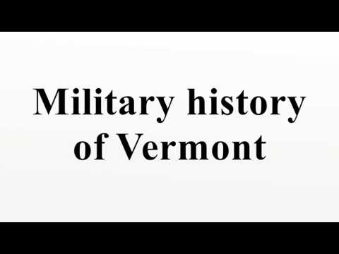 Military history of Vermont
