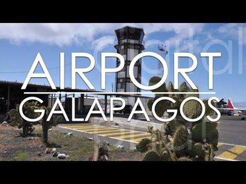 Galapagos Airport Baltra to Puerto Ayora Santa Cruz