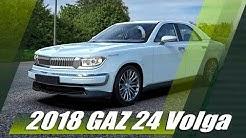 "Soviet Legend Reborn - 2018 GAZ 24 ""Volga"" Sedan Concept"