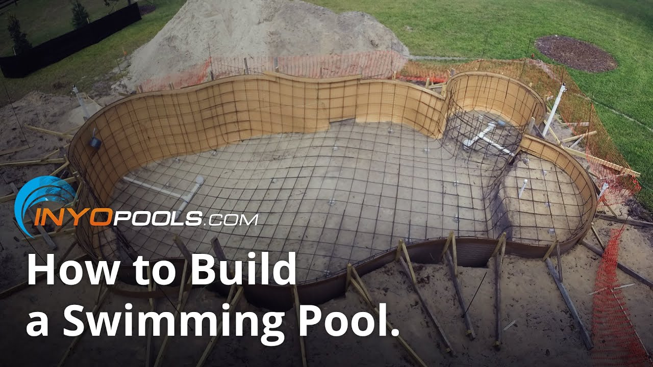 How To Build A Swimming Pool Youtube