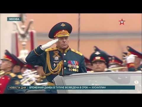 Военнослужащие московского гарнизона