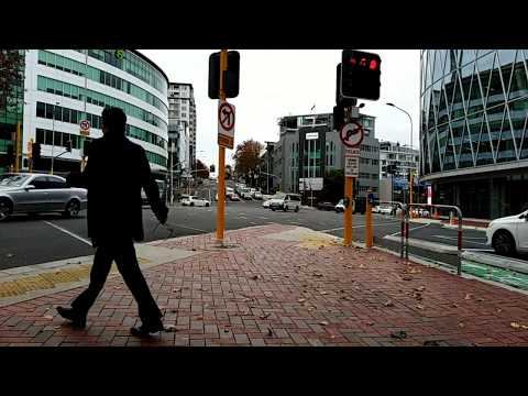 Busy Intersections Auckland NZ