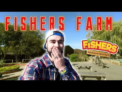 Fishers Farm - Theme Park | SkyFall Jump #FishersFarm