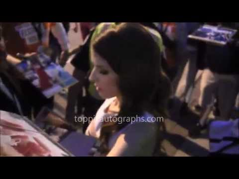 Anna Kendrick - Signing Autographs at the 2014 Toronto International Film Festival