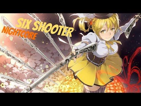Nightcore ~ Six Shooter【Lyrics】