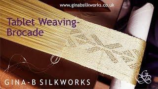Tablet Weaving - Brocade