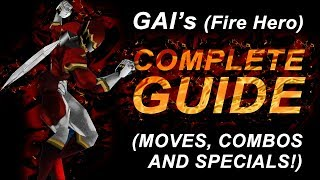 Dual Heroes - GAI COMPLETE GUIDE (moves, combos and specials!) [Texture Mod]