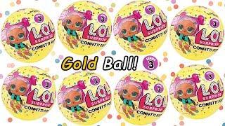 LOL Surprise Doll Confetti Pop Series 3 Surprises