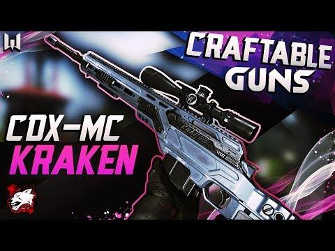 Warface CDX-MC Kraken - Craftable weapons