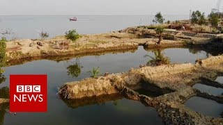 Ghoramora : 'The river has eaten my land' - BBC News