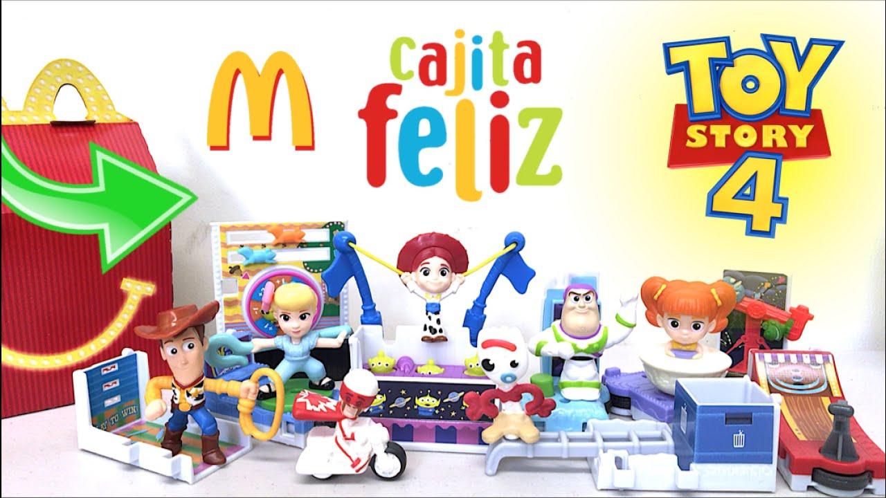 Cajita Feliz TOY STORY 4 | PARTE 3 - Disney Pixar McDonalds | Julio 2019 (Colección Completa)