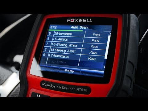 VAG diagnose, coding and adaptation with Foxwell NT510