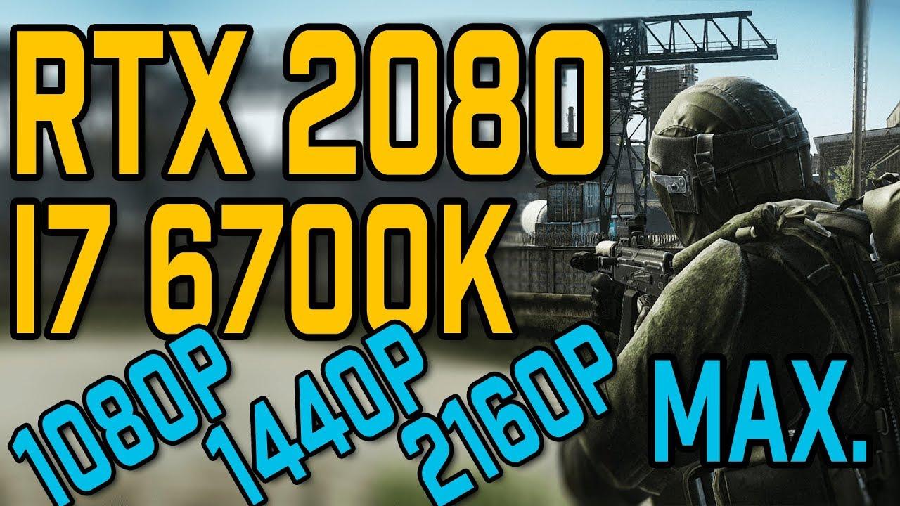 Will A 6700k Bottleneck A 2080