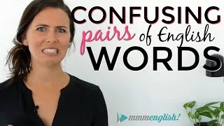 Confusing English Words! | Fix Common Vocabulary Mistakes & ...