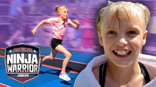 Payton Delu Tries CRAZY NEW NINJA WARRIOR COURSE! (Ninja Kidz TV) | Universal Kids