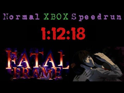 Fatal Frame Normal Speedrun (Xbox) - [1:12:18]