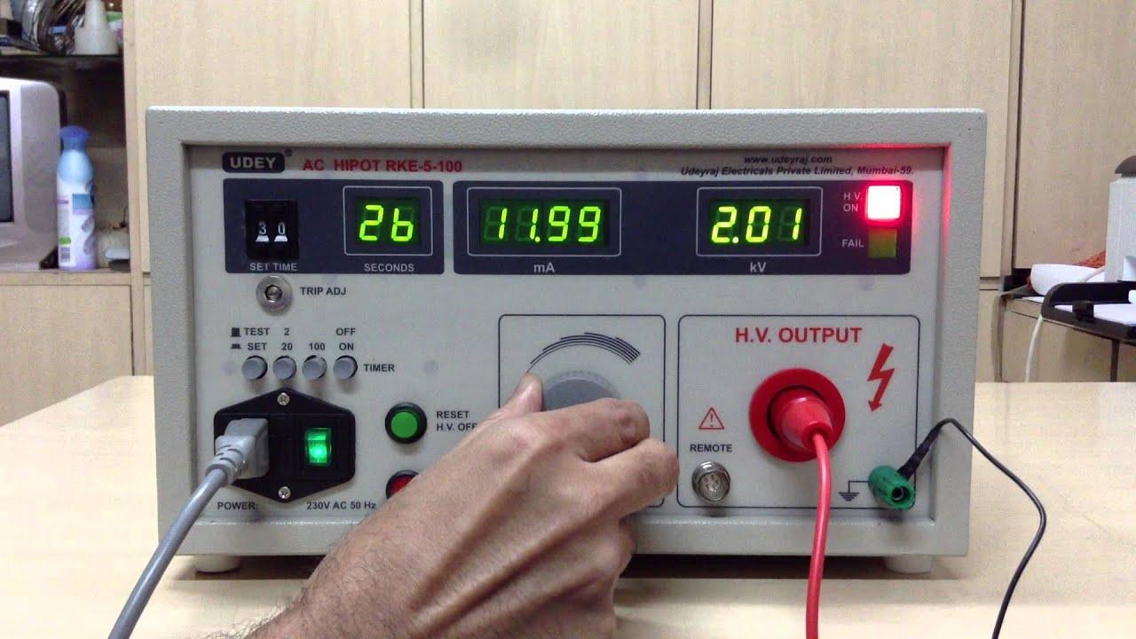 High Voltage Test Probe
