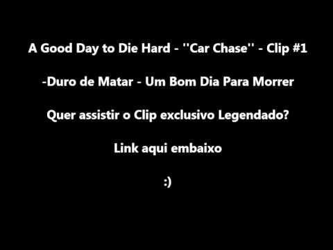 Download A Good Day to Die Hard - ''Car Chase'' - Clip #1 - Legendado