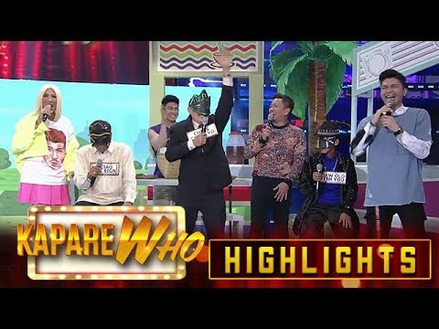Vice Ganda, Vhong and Jhong like how Senior KalaWhok answers   It's Showtime KapareWho from YouTube · Duration:  3 minutes 55 seconds