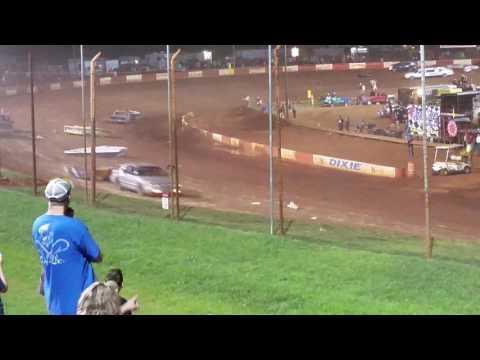 Dixie Speedway Waterless Boat Race