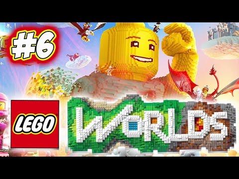MI HANNO PRESO A CALCI NEL CU** - LEGO WORLDS [ITA] #06