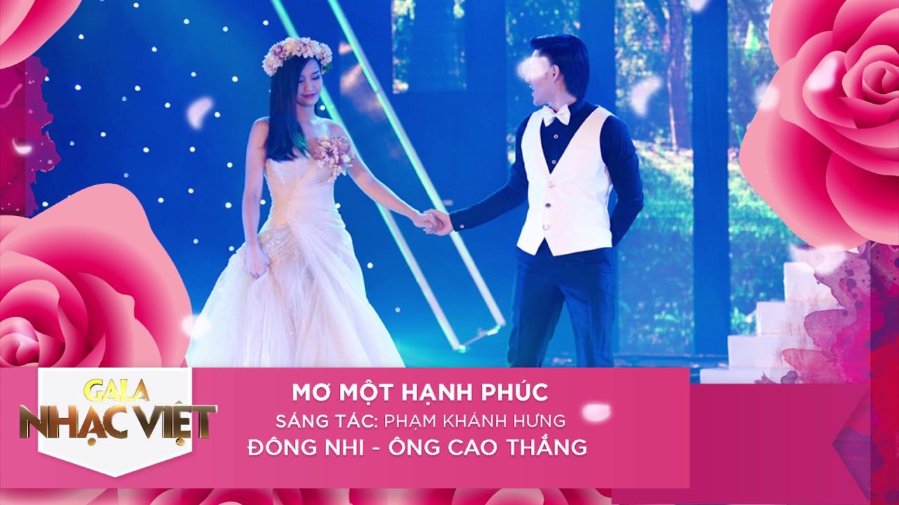 Mơ Một Hạnh Phúc - Đông Nhi, Ông Cao Thắng | Audio Gala Nhạc Việt | Nhạc trẻ hay mới nhất
