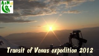 Transit of Venus expedition 2012